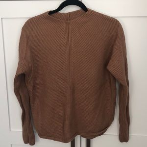 Babaton brown sweater